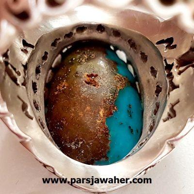 سنگ فیروزه نیشابوری اصل رنگ محک 193