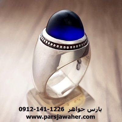 انگشتر مردانه نقره دست ساز 295
