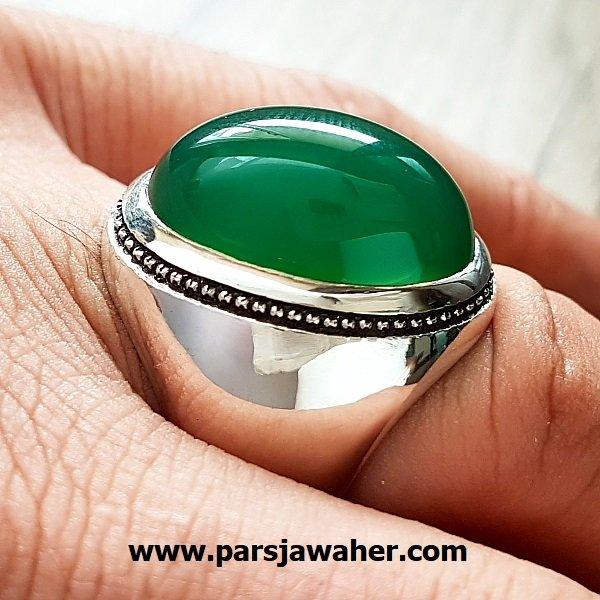 انگشتر مردانه نقره دست ساز a208