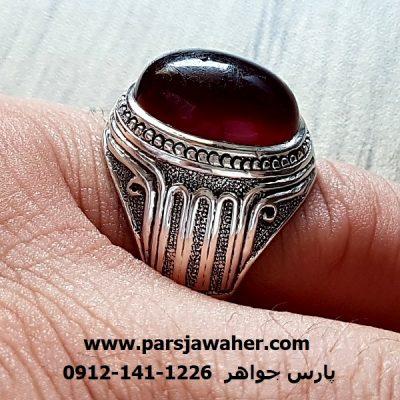 انگشتر رکاب نقره دست ساز استاد طهماسبی f205