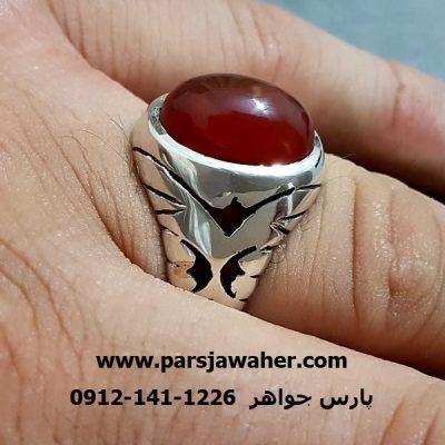 رکاب نقره دست ساز استاد صفاری a245