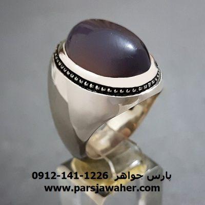 انگشتر عقیق سوسنی یمنی a253