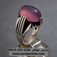 انگشتر عقیق سوسنی یمن دست ساز a255