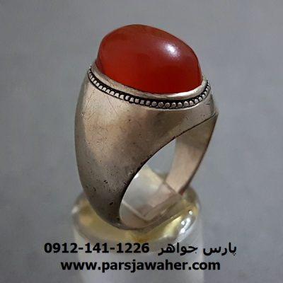 انگشتر قدیمی عقیق یمنی اصل a262