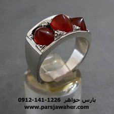 انگشتر عقیق یمن دست ساز a268