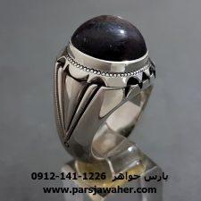 انگشتر نقره مردانه دست ساز 299