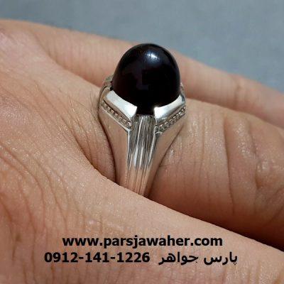 انگشتر رکاب نقره دست ساز محمد غفاری f272