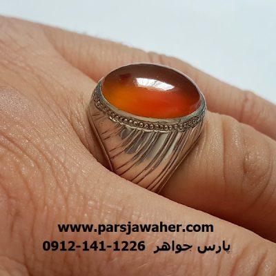 انگشتر عقیق یمن اصل a274