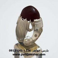 انگشتر عقیق یمنی f300