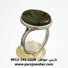 انگشتر يشم يمنی a309
