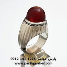 انگشتر عالی عقیق یمنی f306