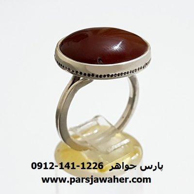انگشتر ارزان عقيق یمنی a313