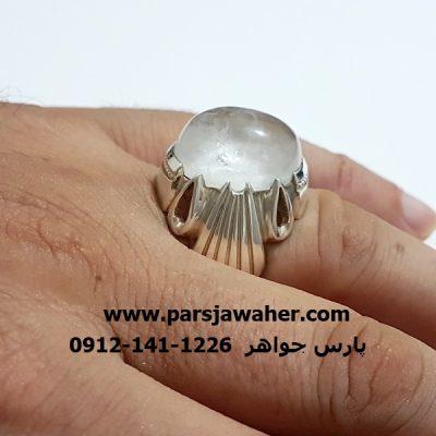 انگشتر نقره مردانه دست ساز 309