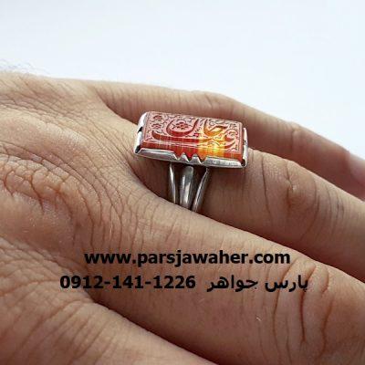 انگشتر رکاب نقره دست ساز صفوی 7048