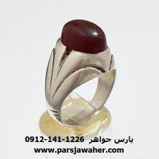 انگشتر قدیمی عقیق یمنی a316