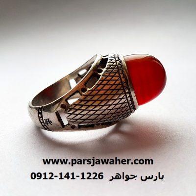 انگشتر مردانه رکاب محمد سعادت مَمی تبریز f314