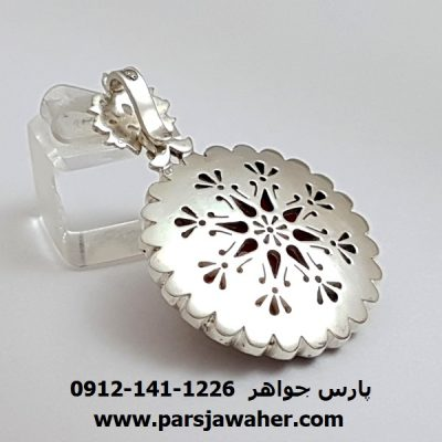 گردنبند نقره دست ساز طهران مظهری f317