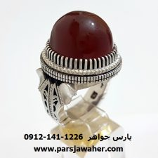 انگشتر عقیق آنس یمن f320