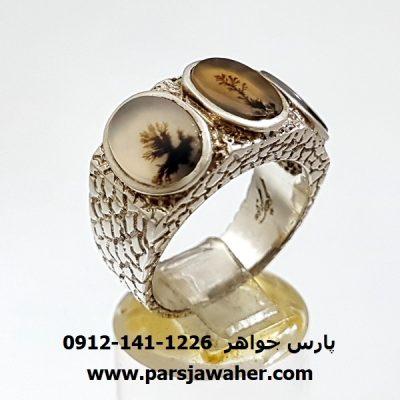 انگشتر شجر دستساز f332