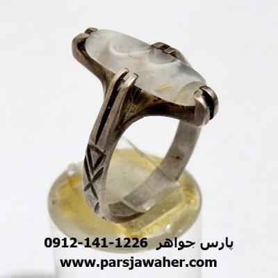 انگشتر شجر عقیق f345