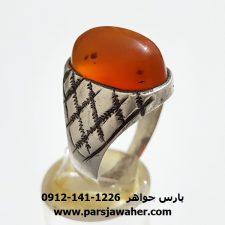 انگشتر قدیمی عقیق یمن a333