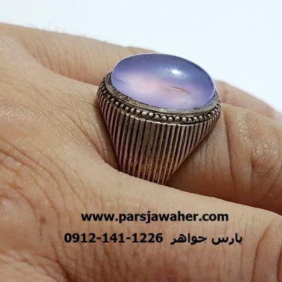 انگشتر رکاب نقره دست ساز مردانه a368