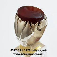 انگشتر عقیق یمنی a346