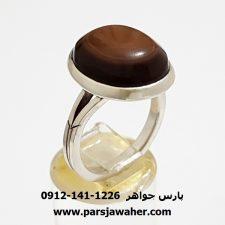 انگشتر جزع باباقوری یمانی a347
