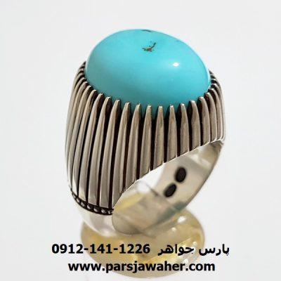 انگشتر ریزدیش فیروزه نیشابوری اصل f405