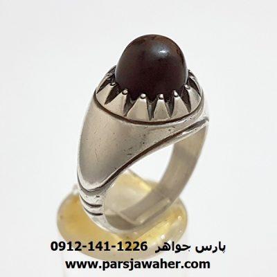 انگشتر قدیمی جزع یمانی اصل a352