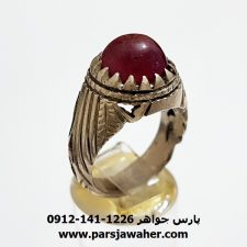انگشتر یاقوت سرخ 346