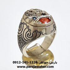 انگشتر مردانه یاقوت سونجیا 347