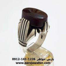 انگشتر عقيق کرزي يمن a357