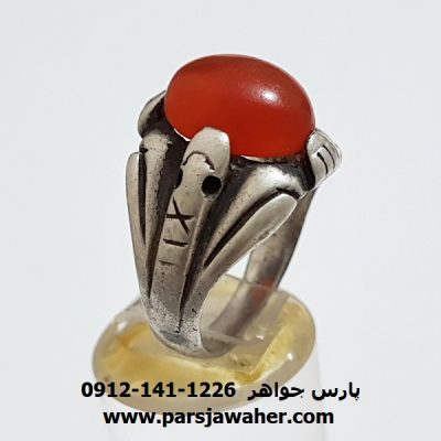 انگشتر قدیمی عقیق یمنی a176