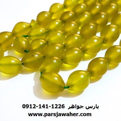 شاه مقصود رنگ سبز متمایل به زرد اصل افغان 222