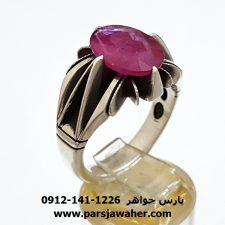 انگشتر یاقوت سرخ اصل 348
