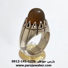 انگشتر فدیوم جزع یمانی f420