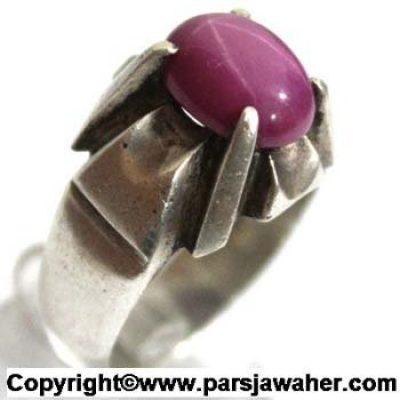 انگشتر استار سرخ سنتاتیک 111