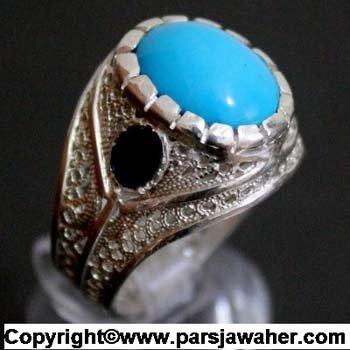 انگشتر فیروزه مصری 127