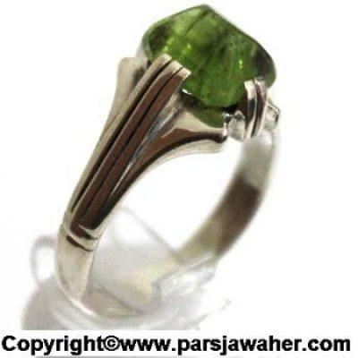 انگشتر مردانه زبرجد 125