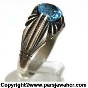 انگشتر مردانه توپاز 173