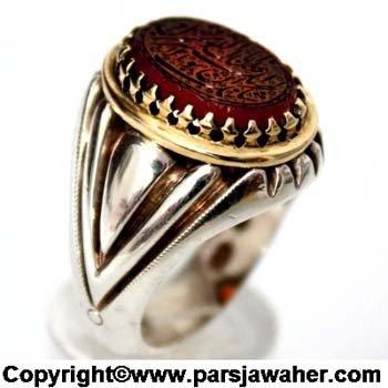 انگشتر قم محمودی عبد 2334