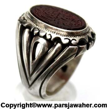 انگشتر نقره رکاب شیخ احمد 2213