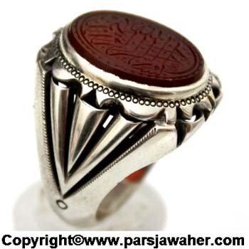 انگشتر رکاب نقره دست ساز 2335