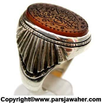 انگشتر رکاب مردانه گنجی 2220