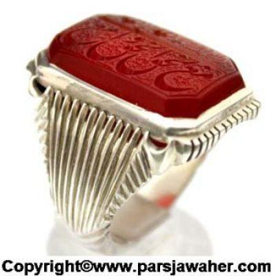 انگشتر مردانه خط اقل میرزا 2825