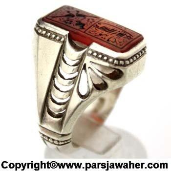 Sharaf Shams Silver Ring 2817