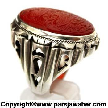 انگشتر مردانه خط میرزا 2721