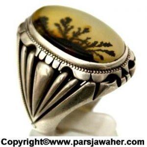انگشتر مردانه شجر 158