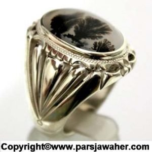 انگشتر نقره شجر 159